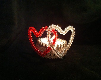 Two of Hearts tealight holder