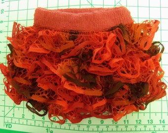 Baby or Toddler ruffled skirt using Starbella yarn