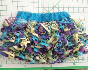 Baby or toddler ruffled skirt. Spring or Easter colors.