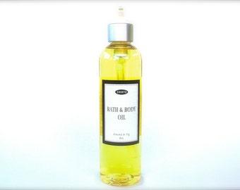 BEST SELLER! Body Oil, Vegan Body Oil, Chemical Free Body Oil,  Dry Skin Relief, Bath & Body Oil  (Choose your Scent)