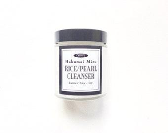 "Rice Face Cleanser, Pearl Face Cleanser, Skin Brightener, Age Spots, Glowing Skin, HAKUMAI MIZU ""Rice/Pearl"" Face Cleanser"