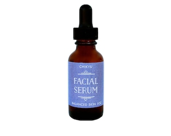 Balanced Skin Serum, Vegan Face Serum, Organic Face Serum, Age Defying Face Serum, Anti Aging Face Serum, FACIAL SERUM (Balanced Skin)