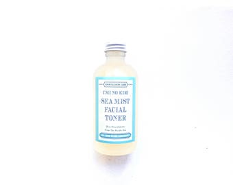 Sea Mist Facial Toner, Sea Water Facial Toner, Hydrating Face Mist, Alcohol Free, All Natural Face Toner, Umi No Kiri SEA MIST Face Toner