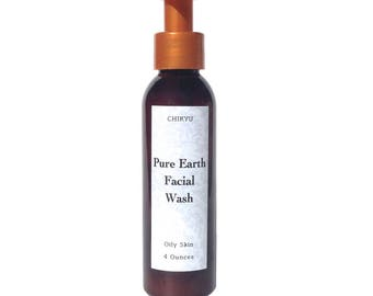 Oil Control, Acne, Oily Skin, Pimples, Clay Cleanser, Oily Skin Control, Acne Control, Sensitive Skin,  PURE EARTH Facial Cleanser