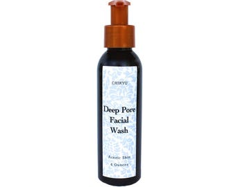 Charcoal, Charcoal Face Wash, Acne, Problem Skin, Dry Skin, Blemished Skin, Oily Skin, Acne Treatment, DEEP PORE Facial Cleanser