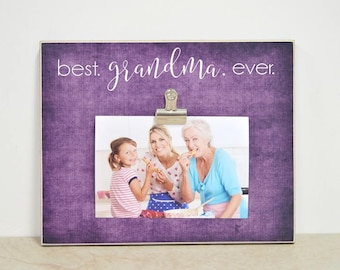 Personalized Photo Frame Gift For Grandma Custom Picture Mothers Day Birthday Nana