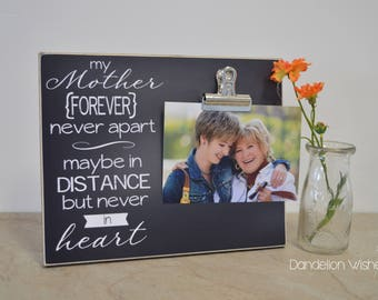 Sister Photo Frame Sisters Forever Never Apart Maybe In Etsy