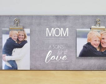 Mother Son Frame Etsy
