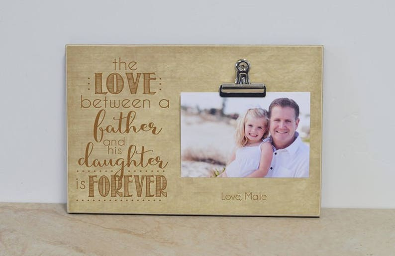 Fathers Day Gift For Dad Father And Daughter Picture