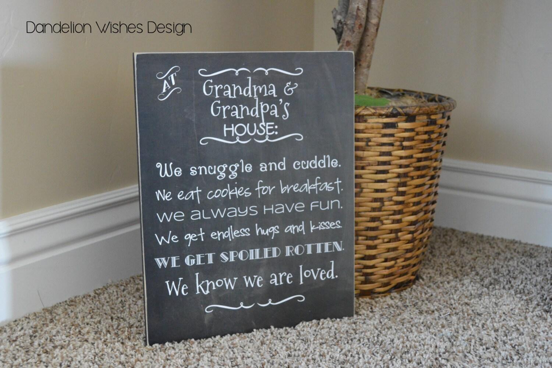 Personalized Gift For Grandparent Gift For Grandma Custom | Etsy