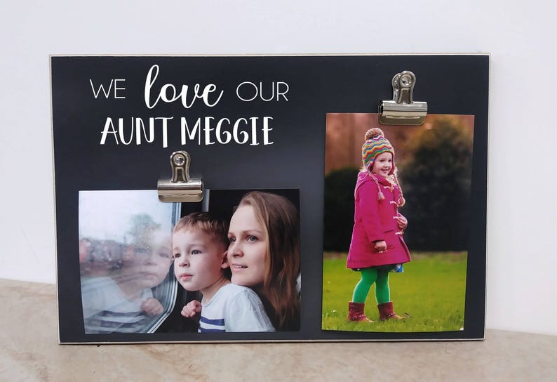 Auntie Gift Photo Frame Birthday For Aunt Personalized