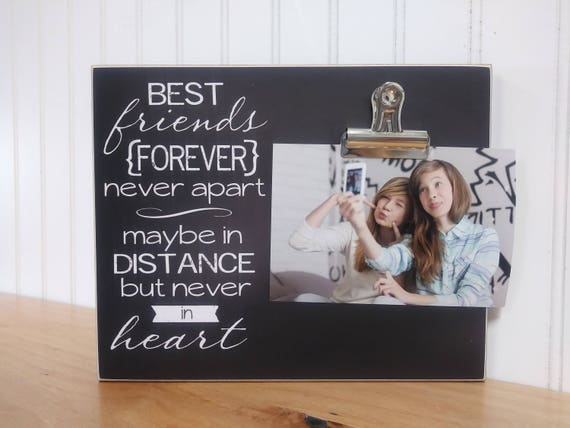 Going Away Gift Best Friend Photo Frame Moving Away Gift Etsy