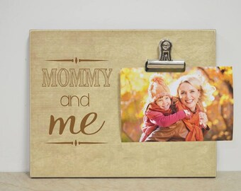 Mommy and Me Photo Frame, Mother's Day Gift, Personalized Picture Frame, Custom Gift For Mother's Day, Mom's Birthday, or just ANY day!