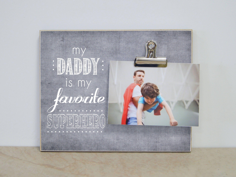 Personalisiertes Bild Rahmen Geschenk für Papa unser Papa...   Etsy