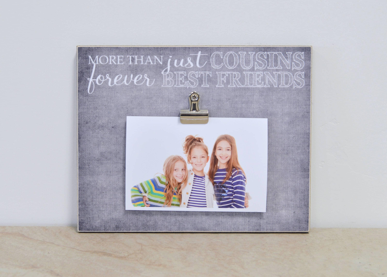 Vettern Fotorahmen Weihnachts-Geschenk für Cousin Cousine | Etsy