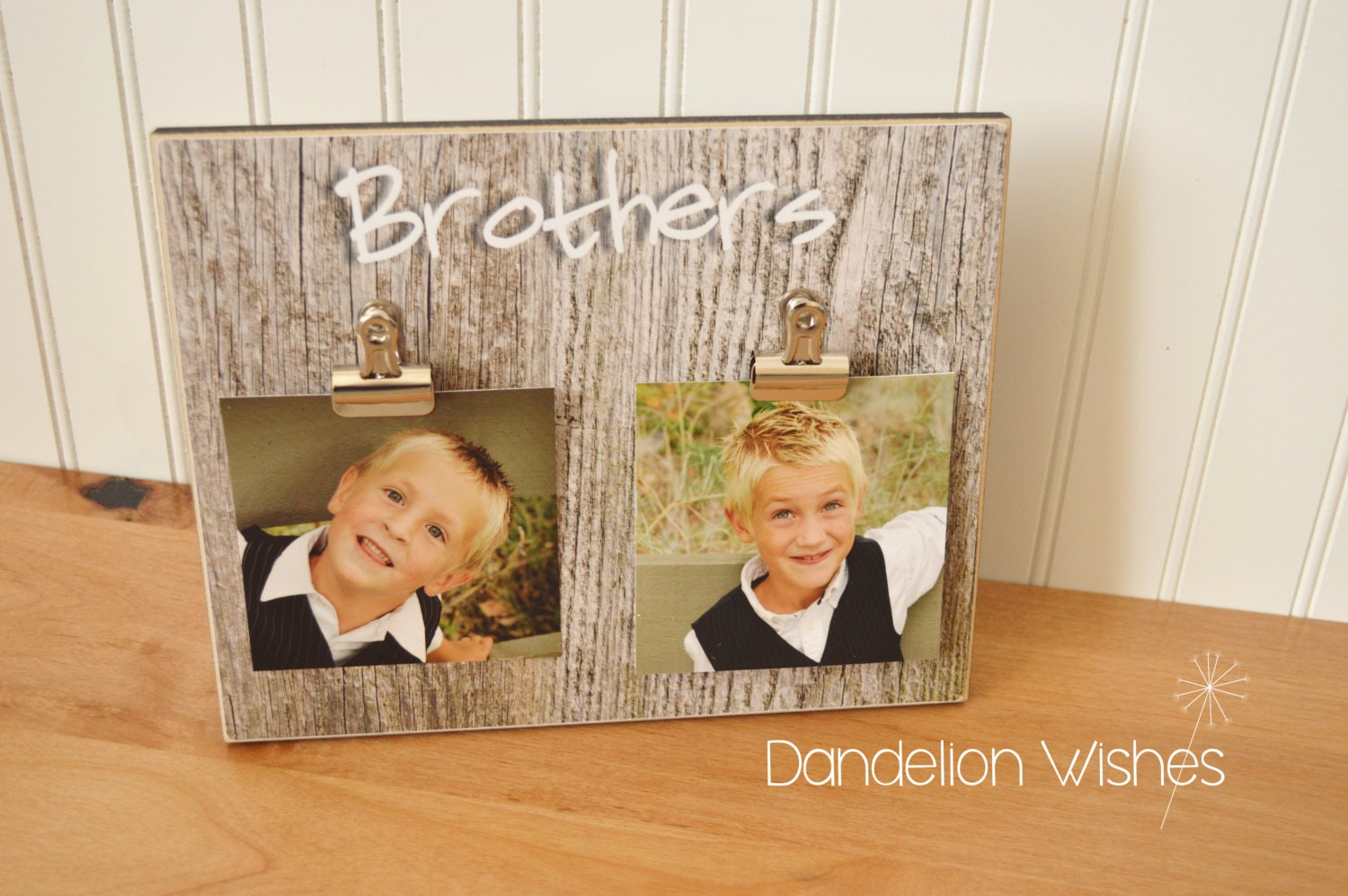 Brothers Gift Picture Frame Boy\'s Bedroom Decor | Etsy