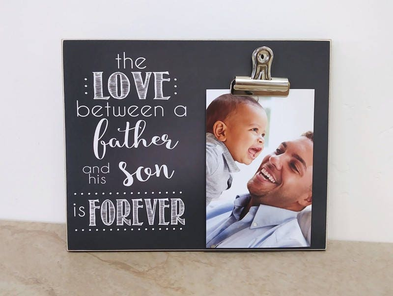 Christmas Gift For Dad The Love Between a Father and Sons Is   Etsy