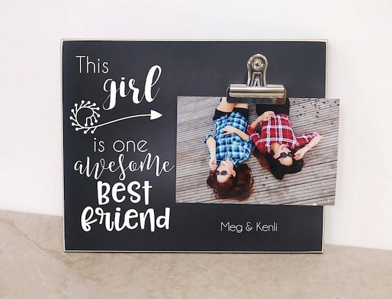 Best Friends Photo Frame Birthday Gift For Friend