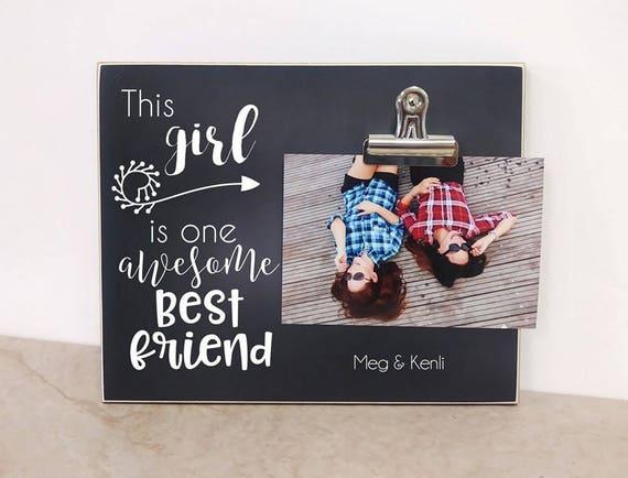 Best Friends Photo Frame Birthday Gift For Friend