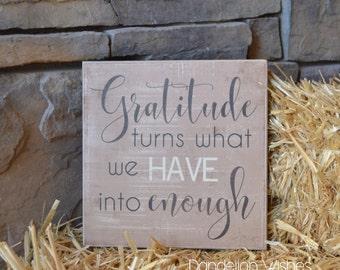Thanksgiving Decor, Fall Home Decor, Thanksgiving Decoration, Thanksgiving Table Decor, Thanksgiving Gift, 12x12 Wooden Sign
