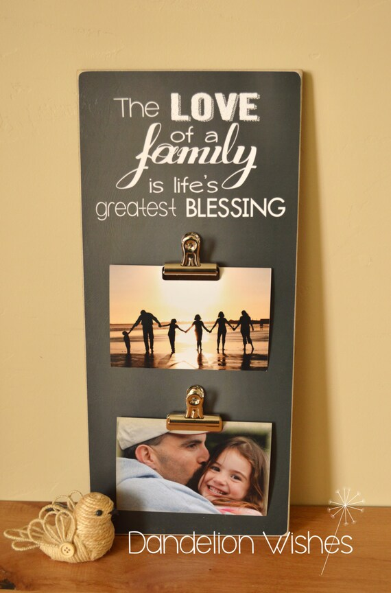 Family Photo Display Family Picture Frame Christmas Gift For Etsy