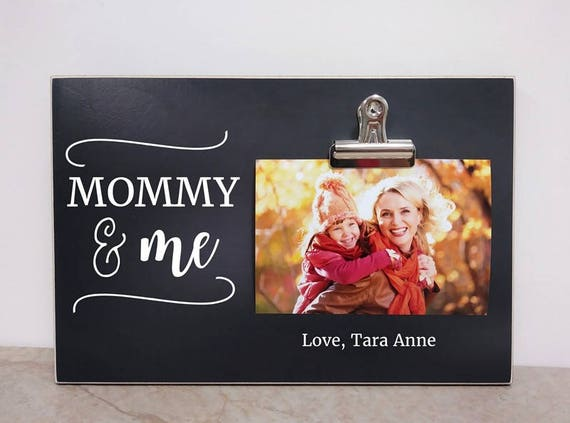 Mom Photo Frame Custom Christmas Gift Personalized Picture Etsy