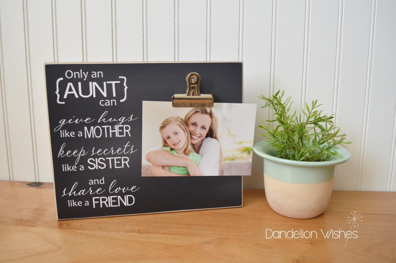 Geburtstagsgeschenk für Tante Custom Photo Frame Tante Tante