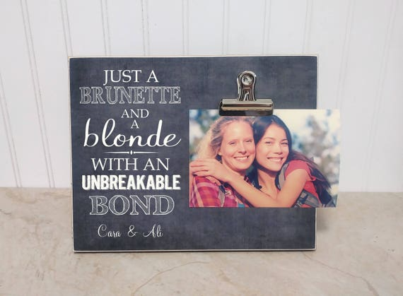 Best Friend Gift Best Friend Photo Frame Personalized Etsy