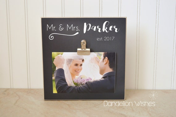 Personalized Wedding Gift For The Bride And Groom Wedding Etsy