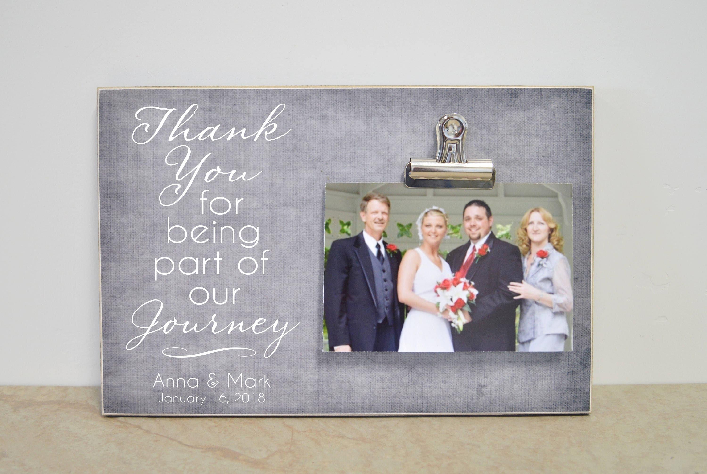 Personalisierte Bilderrahmen Eltern der Brautgeschenk | Etsy