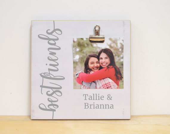Personalized Best Friend Gift Best Friends Photo Frame Etsy