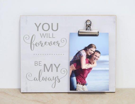Anniversary Photo Frame Gift For Girlfriend Gift For | Etsy