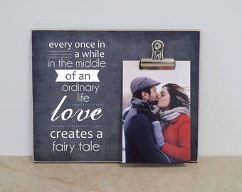 Anniversary Gift For Couple, Personalized Photo Frame, Valentines Gift For Her, Wedding Anniversary Gift For Him, Five Year Wedding