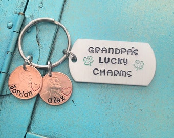Grandpa Keychain Fathers Day Gift For Grandpa Papa Personalized Gift For Him Grandpa Birthday Gift From Grandkids  sc 1 st  Etsy : birthday gift for grandpa - princetonregatta.org