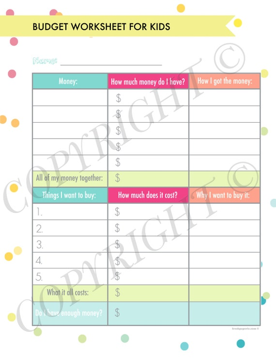 Personal Finance Organizer Printables Complete Kit Instant Etsy