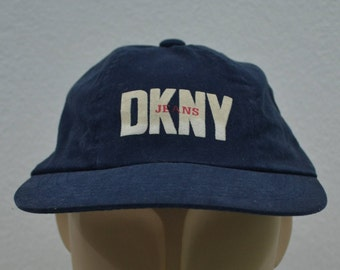 DKNY Hat Vintage DKNY Cap Made in USA 90s Dkny 6 Panel Hat One Size Fits All 3ef9dc6b3fbf
