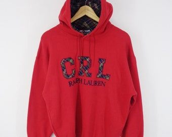 1f4bf6c489fd9 Ralph Lauren Sweatshirt Vintage Chaps Ralph Lauren Big Logo Vintage Ralph  Lauren Hoodie Sweatshirt Vintage Made In Japan Mens Size M