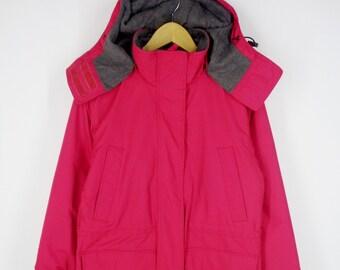 e3f34d8427 Lands  End Jacket Vintage Lands  End Winter Jacket Lands  End Windbreaker  Hoodie Coat Size XXS O PETITE