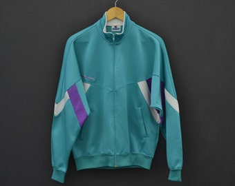 20a14910fe3969 Champion Jacket Size S M Vintage Champion Track Top 90s Champion Vintage  Casual Activewear Made in Japan