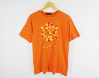436ddd0119 24 hour TV collaboration Coloring Flowering x Asao Tokolo Shirt Vintage 24  Hour Television Shirt Made In Japan Size L