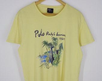 bc76f108510 Polo Ralph Lauren Shirt Vintage Size M Polo RL Vintage Polo Ralph Lauren T  Polo Vintage Relaxed T