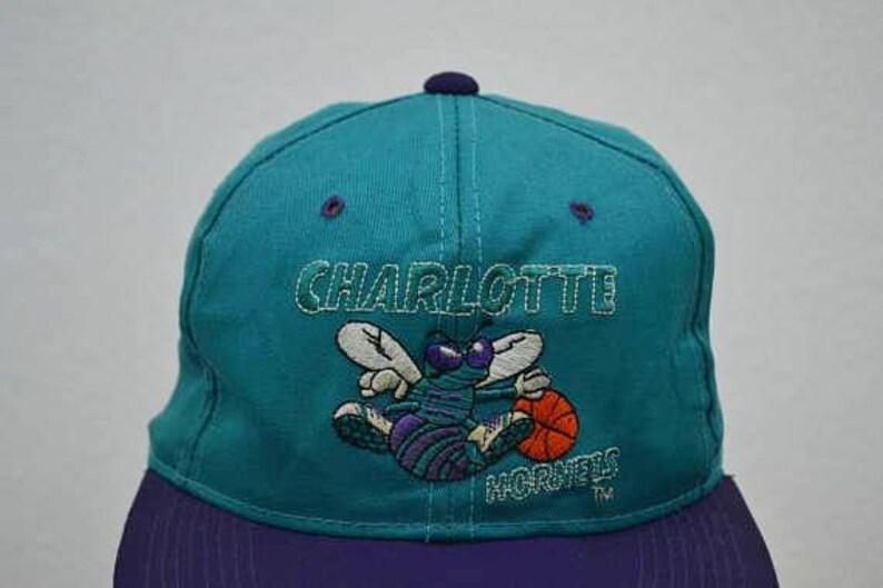 Gli Hornets cappello Vintage Charlotte Hornets Snapback  771b8c7ebf6c