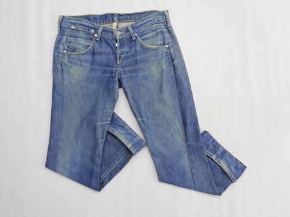 Levis Jeans Distressed Vintage Size 28 Levis Engin