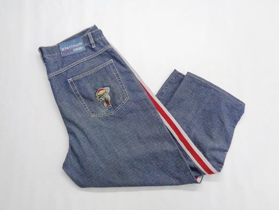 Fubu Jeans Distressed Vintage Fubu Denim Pants Fub