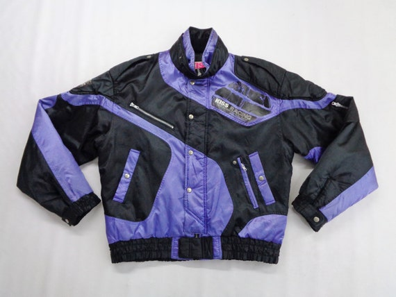 Kiss Racing Jacket Vintage Kiss Racing Windbreake… - image 1