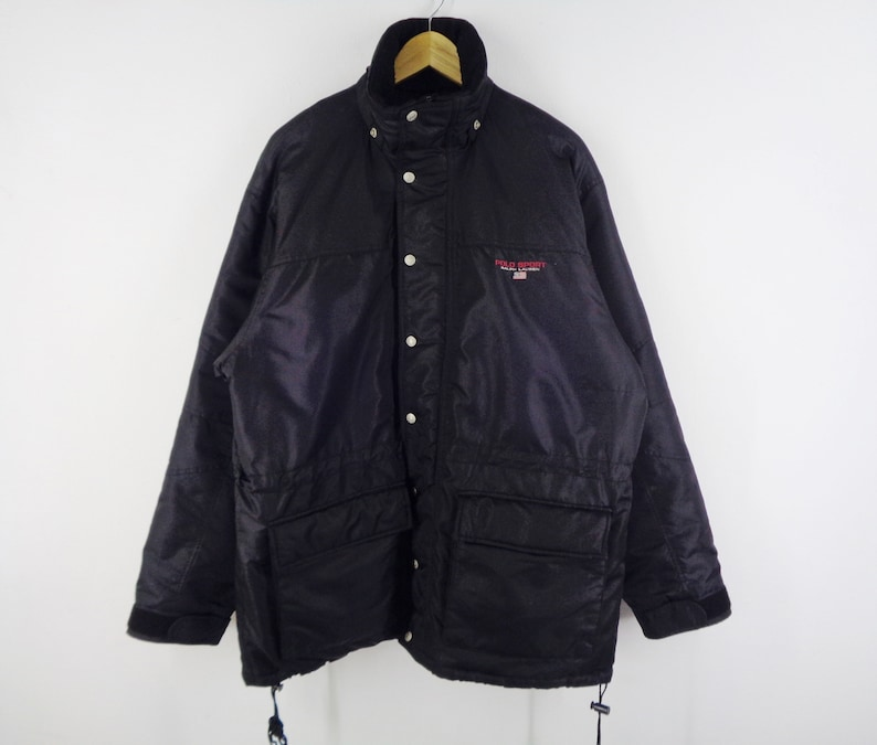 Size M Vintage Windbreaker Jacket Mens Sport Ralph Lauren Winter Polo L4ARj35