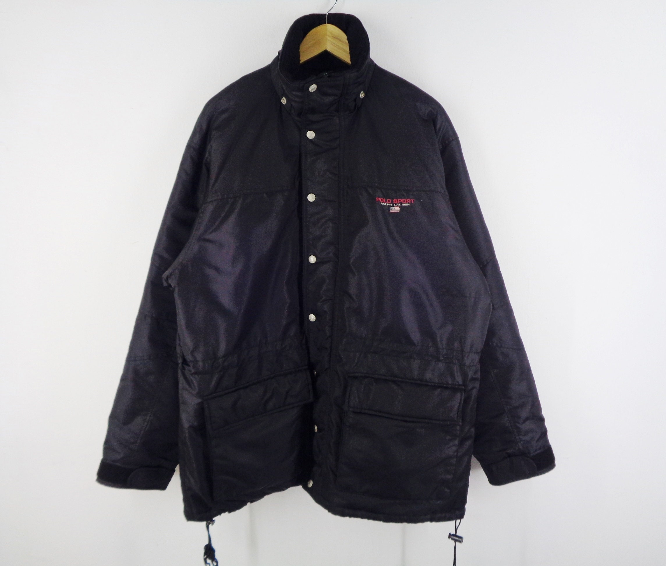 77caf890 Polo Sport Jacket Vintage Polo Sport Ralph Lauren Windbreaker Vintage Polo  Sport Ralph Lauren Winter Jacket Mens Size M