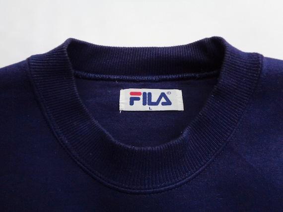 Fila Sweatshirt Vintage Fila Pullover Vintage 90s… - image 4