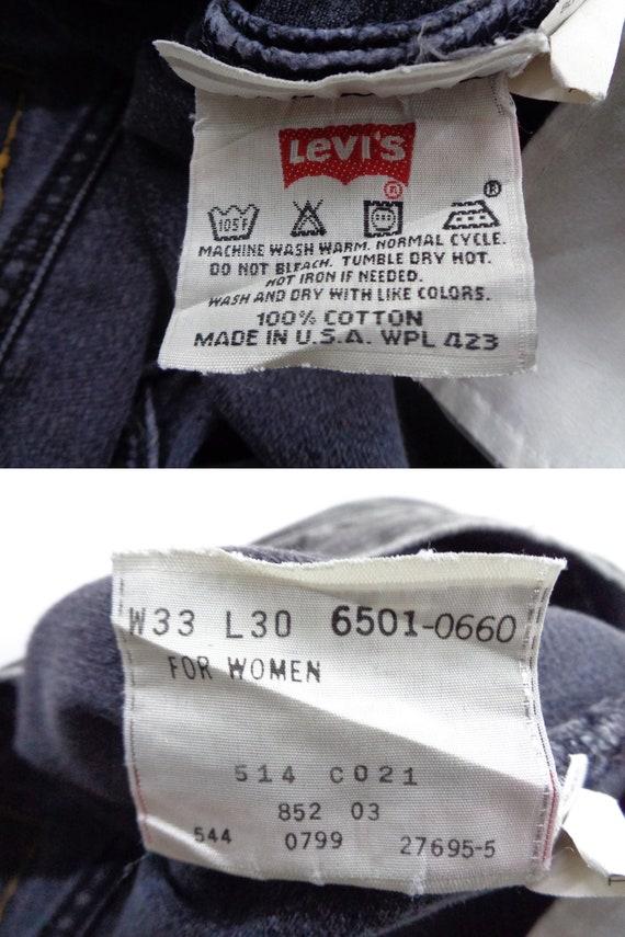 Levis 501 Jeans Distressed Vintage Size 33 Levis … - image 9