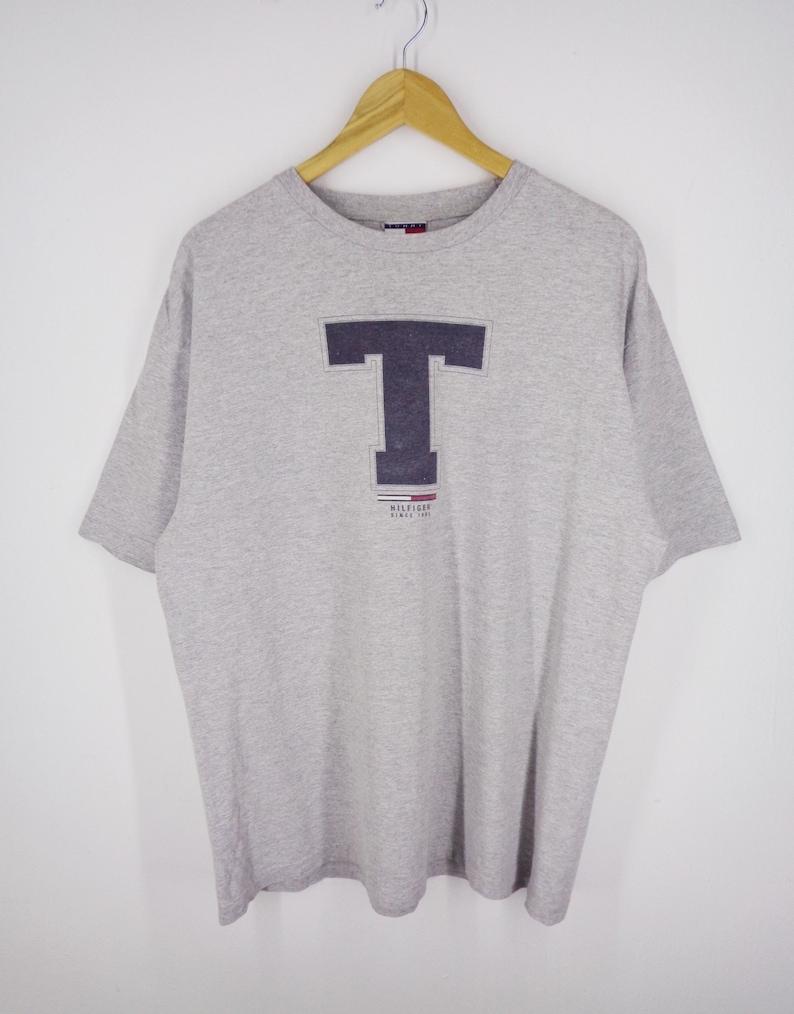 3eec14772d Tommy Hilfiger Shirt Size L G G Vintage Tommy Hilfiger T